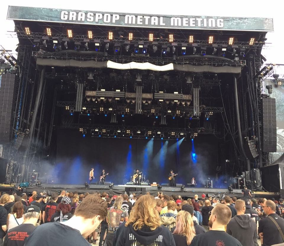 Slydigs at Graspop Metal Meeting 2017