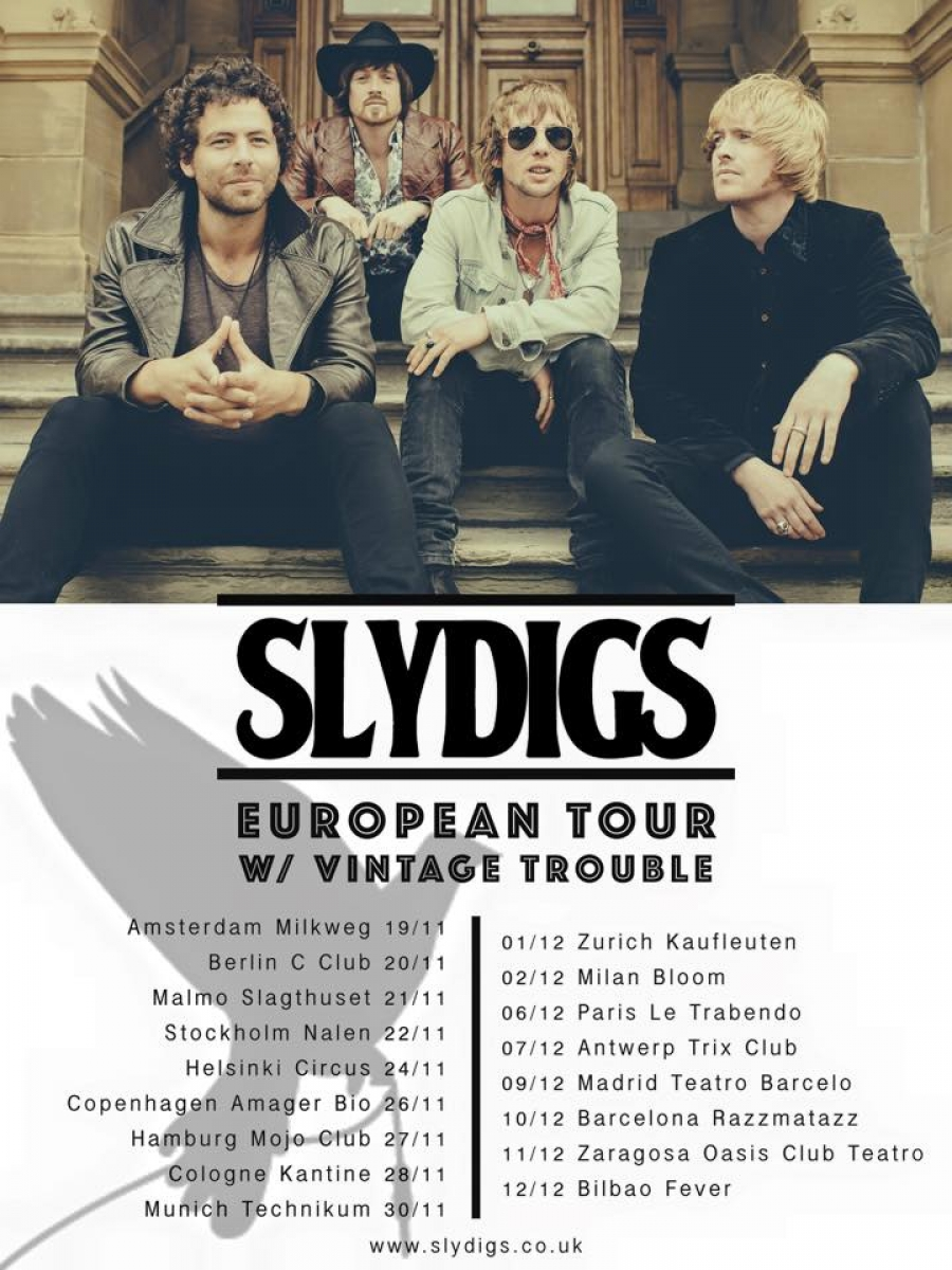 Slydigs European Tour 2015