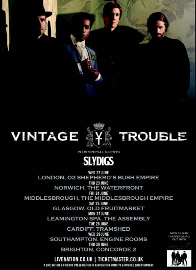 Another Tour With Vintage Trouble