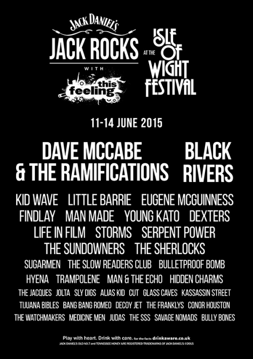 Slydigs to Play Isle of Wight Festival 2015