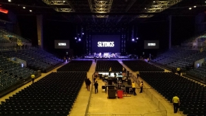 Slydigs Soundcheck at Liverpool Echo Arena