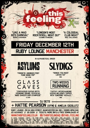 XFM/This Feeling warm up gig - 12th December